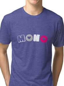 Mono Gyne (Gynephilia) Tri-blend T-Shirt