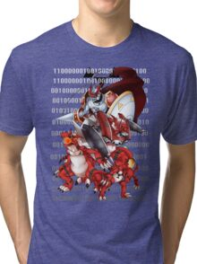 Guilmon Evolution Tri-blend T-Shirt
