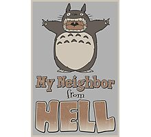 My Neighbor From Hell Photographic Print