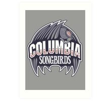 Columbia Songbirds Art Print