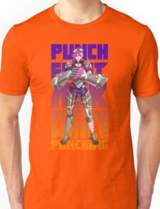 Punch First, Ask Questions While Punching - Vi Unisex T-Shirt