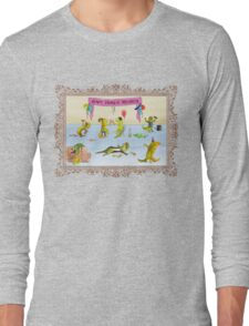 Pissed as a Newt (on light) Long Sleeve T-Shirt