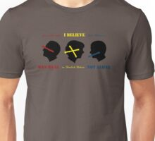 See/Hear/Speak No Lies Unisex T-Shirt