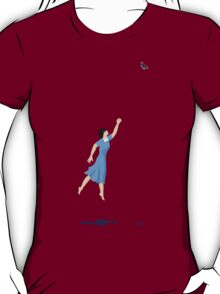 Butterfly Girl Without String T-Shirt