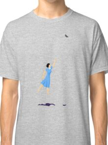 Butterfly Girl Without String Classic T-Shirt