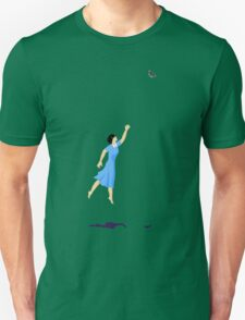 Butterfly Girl Without String Unisex T-Shirt