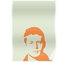 Dean Winchester w/o quote Poster