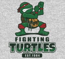 Fighting Turtles by Adho1982