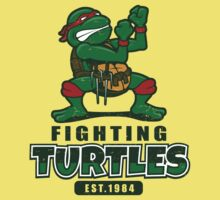 Fighting Turtles Kids Tee