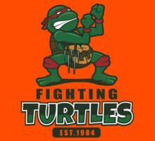 Fighting Turtles Kids Tee