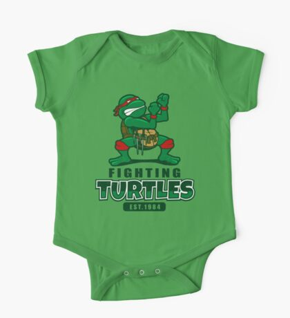 Fighting Turtles One Piece - Short Sleeve