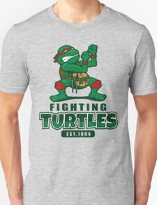 Fighting Turtles Unisex T-Shirt