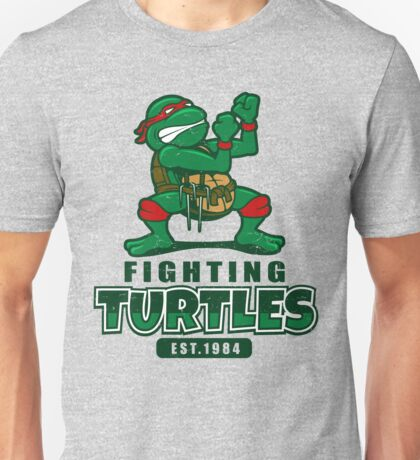 Fighting Turtles Unisex T-Shirt