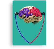 Music to the brain Canvas Print