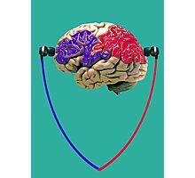 Music to the brain Photographic Print
