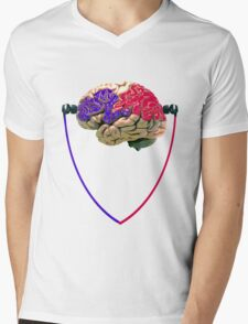 Music to the brain Mens V-Neck T-Shirt