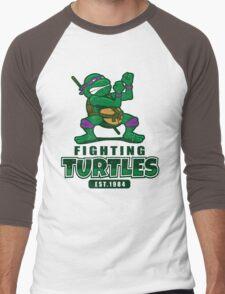 Fighting Turtles - Donatello Men's Baseball ¾ T-Shirt