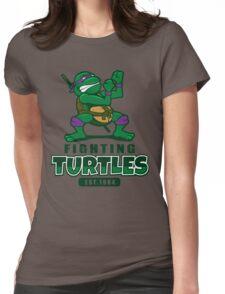 Fighting Turtles - Donatello Womens Fitted T-Shirt