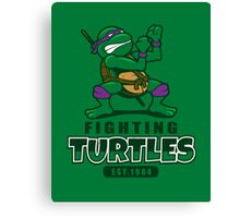 Fighting Turtles - Donatello Canvas Print