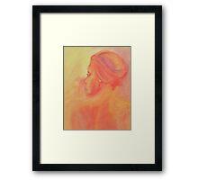 African Heat Framed Print
