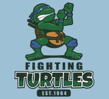 Fighting Turtles - Leonardo Kids Tee