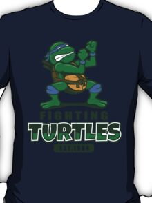 Fighting Turtles - Leonardo T-Shirt