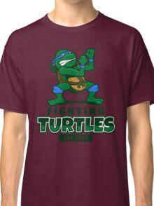 Fighting Turtles - Leonardo Classic T-Shirt