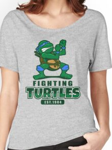 Fighting Turtles - Leonardo Women's Relaxed Fit T-Shirt