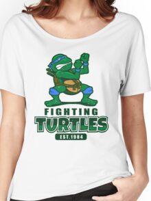 Fighting Turtles - Leonardo Women's Relaxed Fit T-Shirt