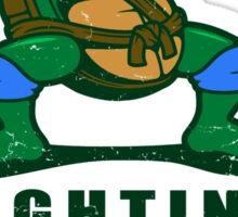 Fighting Turtles - Leonardo Sticker
