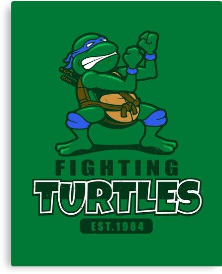 Fighting Turtles - Leonardo by Adho1982