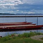 Dragon boats..Vermont USA by jeanlphotos