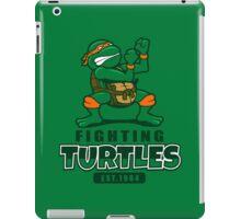 Fighting Turtles - Michelangelo iPad Case/Skin