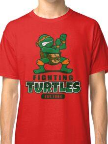Fighting Turtles - Michelangelo Classic T-Shirt