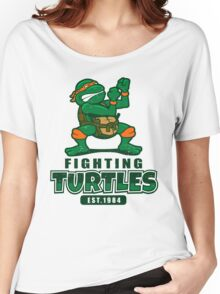Fighting Turtles - Michelangelo Women's Relaxed Fit T-Shirt