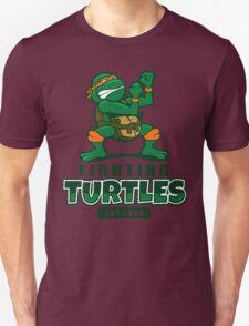 Fighting Turtles - Michelangelo Unisex T-Shirt
