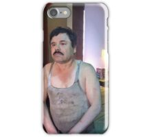 EL CHAPO | ARRESTED  iPhone Case/Skin