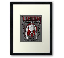 A Miracle of Modern Science! Framed Print