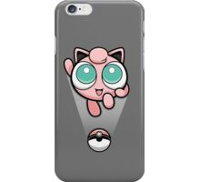Jigglypuff Opened a Can of Whoop-Ass! It's Super Effective! iPhone Case/Skin