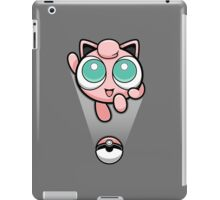 Jigglypuff Opened a Can of Whoop-Ass! It's Super Effective! iPad Case/Skin