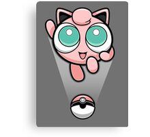 Jigglypuff Opened a Can of Whoop-Ass! It's Super Effective! Canvas Print
