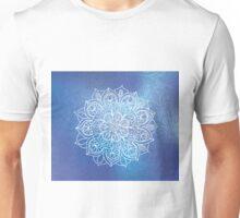 Blue and Purple Mandala Unisex T-Shirt