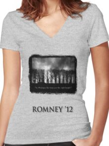 What a thrill! Women's Fitted V-Neck T-Shirt