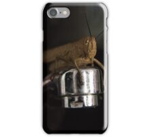 Good Morning Mr Cricket iPhone Case/Skin