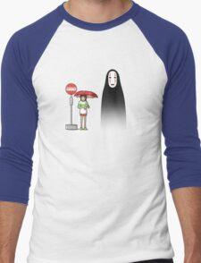 My Lonely Neighbor Men's Baseball ¾ T-Shirt