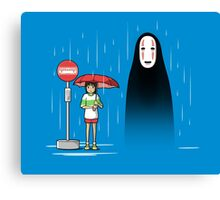 My Lonely Neighbor Canvas Print