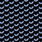 Blue Bat: Hallowe'en Themes by Fiona Lokot