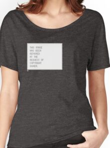 © Control v1.2 Women's Relaxed Fit T-Shirt