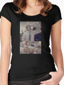 Bill Murray - Groundhog Day 3D Women's Fitted Scoop T-Shirt