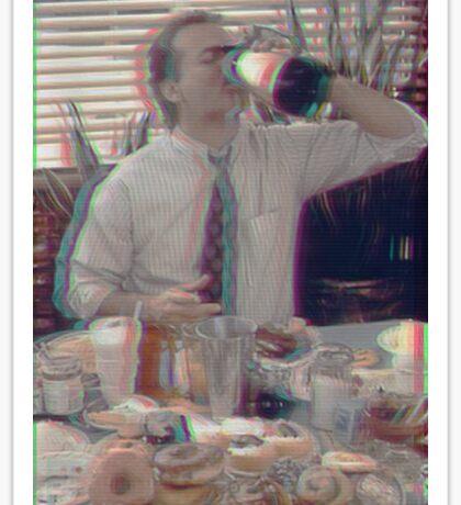 Bill Murray - Groundhog Day 3D Sticker